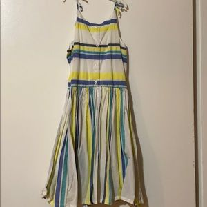 Girls striped sundress